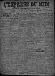 24 Mars 1902 - Bibliothèque de Toulouse