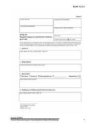Verwaltungsvorschrift des Wirtschaftsministeriums über Vordrucke ...