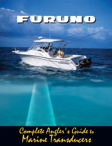 Complete Anglers Guide to Transducers - Radar Marine Electronics