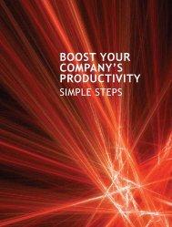 Boost Your Company's Productivity: Simple Steps - IDA Ireland