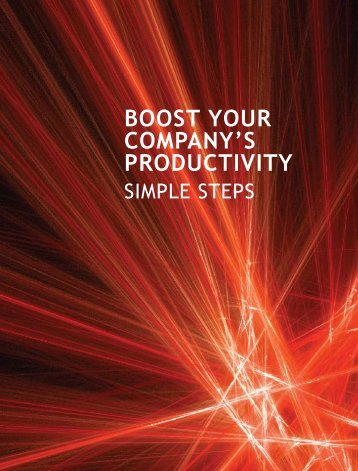 Boost Your Company's Productivity: Simple Steps - IDA Ireland
