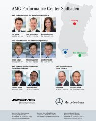 AMG Ansprechpartner zum Download (pdf) - Mercedes-Benz ...