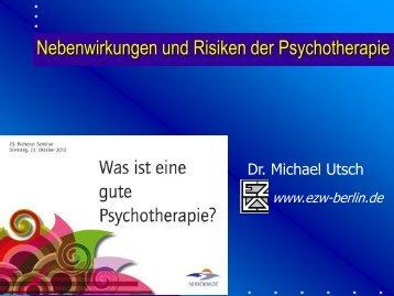 Dr. Michael Utsch - Nebenwirkungen und Risiken ... - Sonnenhalde