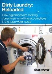 Dirty Laundry: Reloaded - Greenpeace
