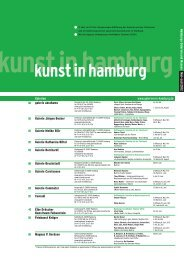 kunst in hamburg - Galerien in Hamburg