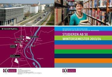 STUDIEREN Ab 50 SOMMERSEMESTER 2012 - fokus: DU