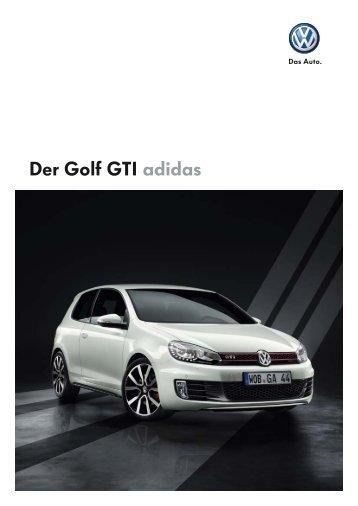 Der Golf GTI adidas - Autohaus Elmshorn