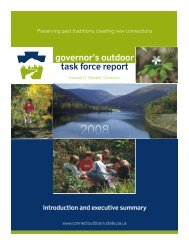 Pennsylvania Governor's Outdoor Task Force Report - American ...