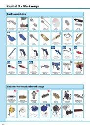 Werkzeuge - Frank Drucklufttechnik