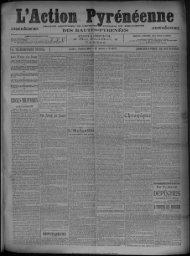L TELEGRAPHIQUE SPECIAL Lundi 4 Octobre 1909.