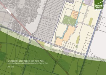 Cranbourne East Precinct Structure Plan - Growth Areas Authority