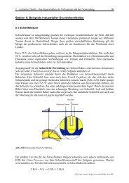 2. Lernzirkel Stoffe, Teil II - Justus-Liebig-Universität Gießen