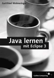 Java lernen mit Eclipse 3 - Buecher.de
