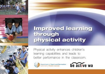 Improved Learning Through Physical Activity - School Sport Unit