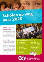 Scholen op weg naar 2020 - GO! onderwijs van de Vlaamse ...