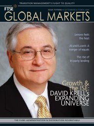Growth & the ISE: DAVID KRELL's EXPANDING UNIVERSE - FTSE