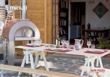 Datenblatt 5 Minuti Pizzaofen von Alfa - Gardelino