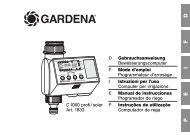 OM, Gardena, Programmateur d'arrosage, Art 01833-20, 2006-06