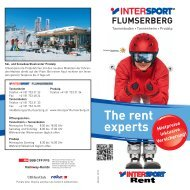 Winterprospekt 2012/13 INTERSPORT FLUMSERBERG (PDF)