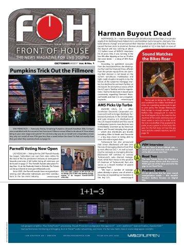 Harman Buyout Dead - FOH Online