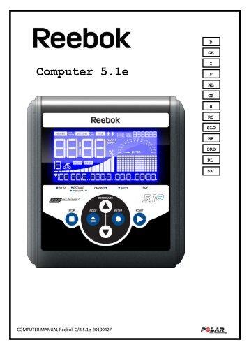 Computer 5.1e - Reebok Fitness