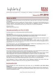 Infobrief 1-2010 - BFAS