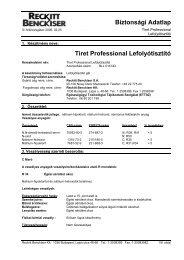 TIRET Proffessional - Galatea Kft.