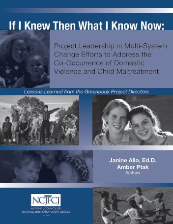 If I Knew Then What I Know Now: - Futures Without Violence