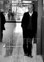 Lees mijn interview met Gène Bervoets als pdf - Frederika Hostens