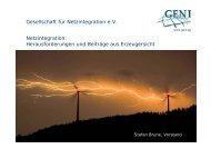 DUH_Brune_GENI_300909.pdf - Forum Netzintegration Erneuerbare Energien