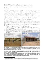 Post-RIDEF 2006 in Dagana, Senegal - Freinet-Kooperative eV