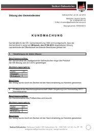 K U N D M A C H U N G - Gallneukirchen