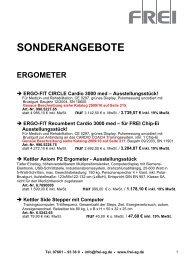 Sonderangebote: z.B. Power Web Junior Griffübungsgerät ... - Frei AG