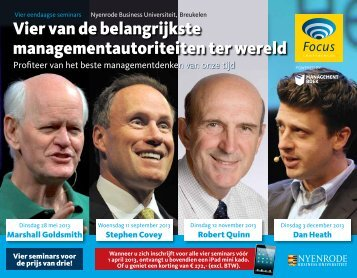 Bekijk de brochure - Focus Conferences