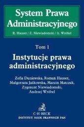 Instytucje prawa administracyjnego - Gandalf