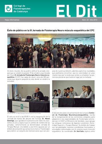 Éxito de público en la III Jornada de Fisioterapia Neuro músculo ...