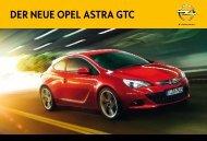 Ihr Individueller Opel GTC. - Autohaus Siebrecht