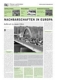 Projektreader - Europa im Fluss