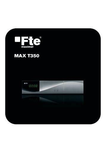 MAX T350_ES_v1.1.indd - FTE Maximal