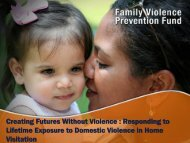 Creating Futures Without Violence : Responding to Lifetime ...