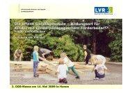 Die offene Ganztagsschule – Bildungsort für ... - GanzTag in NRW