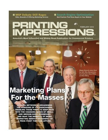 PRINTING IMPRESSIONS® - The Franchise Handbook