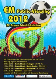 EM Public-Viewing 2012 - Friedrichshafen