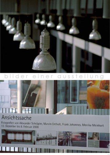 fotografiert und zusammengestellt von Wolfram Reuter - Galerie im ...