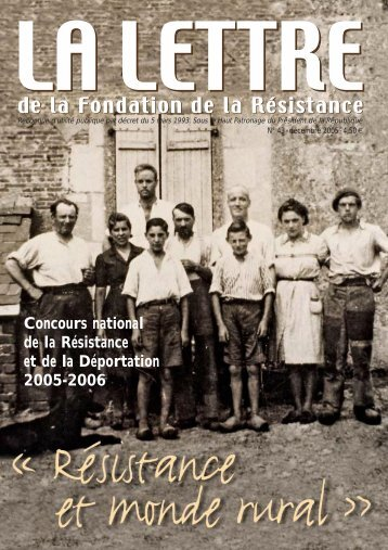 Télécharger au format PDF (2.2 Mo) - Fondation de la Résistance