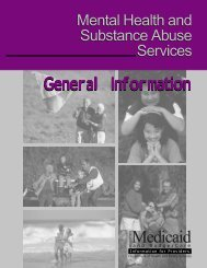 Mental Health and Substance Abuse Services - Wisconsin.gov