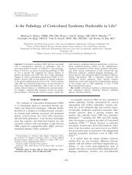 Is the pathology of corticobasal syndrome ... - ResearchGate