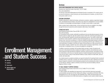 Enrollment Management and Student Success - Fashion Institute of ...
