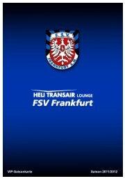 Folie 1 - FSV Frankfurt
