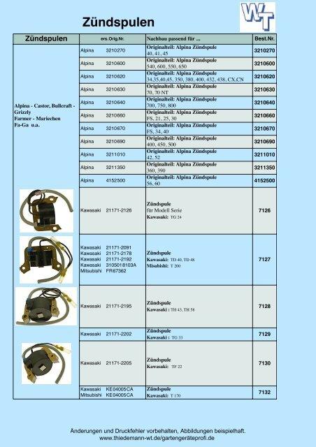 Zündspule für Briggs/&Stratton 5 PS Quantum und Europa 4-Takt Modelle